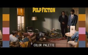 Color Grading Palette Pulp Fiction adeep oberoi Di colorist