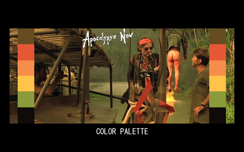 Apocalypse Now Color Grading Adeep oberoi Di colorist 1024x640 - APOCALYPSE NOW COLOR GRADING PALETTE